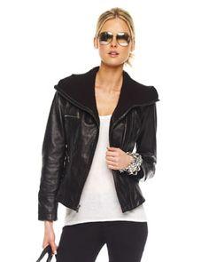 T3N45 MICHAEL Michael Kors  Asymmetric-Zip Scuba Jacket
