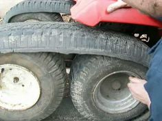 Lawnmower tank tracks part 8.avi - YouTube
