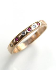 hand made contemporary jewellery wedding and engagement rings white gold diamonds | Debra Fallowfield