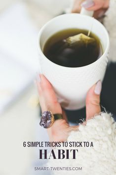 Do you depend on motivation to stick to a habit? Well, you don't need to. I share 6 tricks to stick to a habit and none of them require motivation Valentines Date Ideas, Habits Of Successful People, Daily Health Tips, How To Stop Procrastinating, Finding Happiness, Living A Healthy Life, Self Care Routine, Wellness Tips, How To Stay Motivated