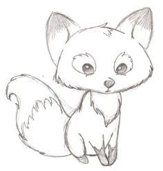easy to draw cartoon fox - Google Search