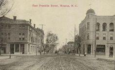 East Franklin Street Monroe NC ~1910