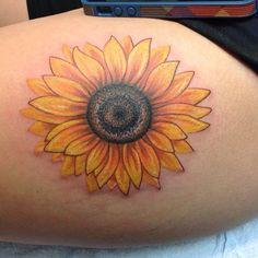 15 Sunflower Tattoos That Will Brighten Your Day