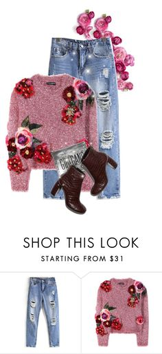 """""""street  style"""" by janemichaud-ipod ❤ liked on Polyvore featuring Dolce&Gabbana, Sarah Baily and STELLA McCARTNEY"""