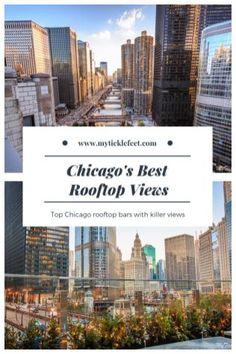 Chicago rooftop views Rooftop Chicago, Rooftop Bar, Chicago Vacation, Chicago Travel, Phuket, Short Vacation, Travel Expert, United States Travel, Work Travel