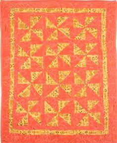 Orange Robyn Quilt