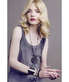 Altra Dea bransoletka BUCO CN Pendant Necklace, Couture, Rock, Fashion, Moda, Fashion Styles, Skirt, Locks, The Rock