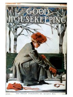 Some of our favorite covers from the Good Housekeeping archives, featuring art by illustrators James Preston and Cushman Parker. Vintage Images, Vintage Posters, Vintage Art, Vintage Ephemera, Magazine Cover Design, Magazine Art, Magazine Covers, Old Magazines, Vintage Magazines