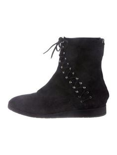 Alaia Suede Ankle Boots w/ Tags
