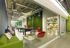 Skype Contemporary Headquarters in Palo Alto, California