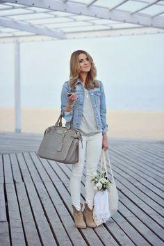 How to wear het jeansjasje #Lunefashion