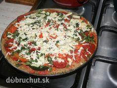 Celozrnná diétna pizza