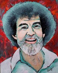 Original Artwork, Original Paintings, The Joy Of Painting, Bob Ross, Print Artist, Famous Artists, Anniversary Gifts, Art Ideas, Etsy Shop