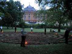 Labyrinth at the Rosenbachpark