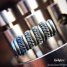 """ By @justinjones34293  My variation of @squidoode variation of the double staggered fused clapton 28 gauge clapton 32 parallel 22 #teamjuicecrate…"""