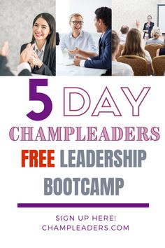 """Champion Leader's Bootcamp - Email Course The Secret to Effective Leadership starts with being open to learning. Learn all the Secrets in our FREE course! #leadership #leadershipTraining #careertips #careeradvice #personalgrowth"""" Effective Leadership, Effective Communication, Communication Skills, Boss Babe Motivation, Workplace Motivation, Leadership Courses, Leadership Tips, Team Activities, Leadership Activities"""