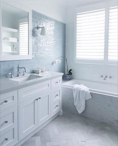 A lovely shot of our youngest boys' bathroom captured by Designe Rustic Bathroom Shelves, Rustic Bathroom Vanities, Bathroom Storage Shelves, Bathroom Renos, Hamptons Style Homes, Hamptons House, Bathroom Styling, Bathroom Interior Design, Hampton Style Bathrooms