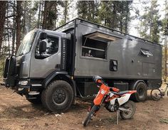 Ultra-Rugged Camper Trucks : Patagonia Expedition Vehicle - Home & DIY Adventure Campers, Off Road Camper, Truck Camper, Off Road Vehicle, Camper Van, Overland Truck, Expedition Vehicle, Bike Design, Van Life