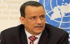 """اخبار اليمن : قال أن عمله ضد وباء """"آيبولا"""" أسهل من مهمته في اليمن.. ولد الشيخ: السلام في اليمن مهمة صعبة"""