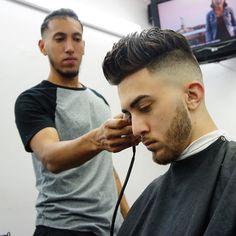Haircut by criztofferson http://ift.tt/1T4NPuK #menshair #menshairstyles #menshaircuts #hairstylesformen #coolhaircuts #coolhairstyles #haircuts #hairstyles #barbers