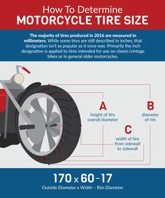 Determine Motorcycle Tire Size