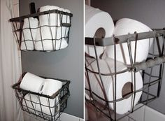 baskets in the bath