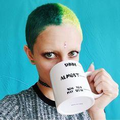 Drink up bitch ☕️  @amintaonlinecom