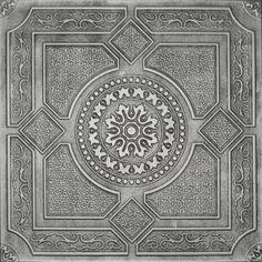 antique ceiling tin tiles | Details about Tin-Look Ceiling Tiles ANTIQUE-SILVER R30W 4 SALE