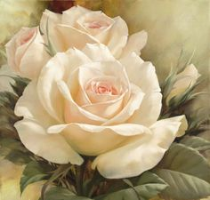 oil painting flower - Bing Images