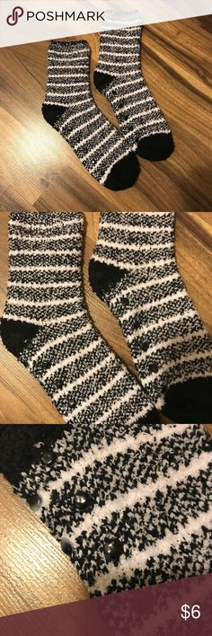 Super Fuzzy Non Slip Socks NEW • super cozy and fuzzy warm socks with plastic grip on soles (pictured) Accessories Hosiery & Socks