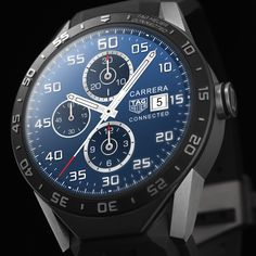 Discover the TAG Heuer Connected   46 mm SAR8A80.FT6045 Pulseira de borracha preta.