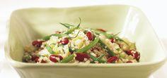 Salade de quinoa et de haricots Recettes | Ricardo