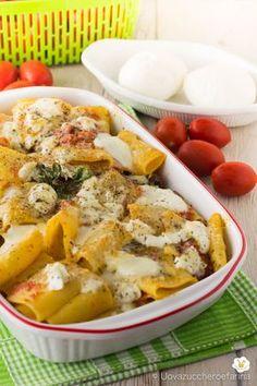 Paccheri alla sorrentina un gustoso primo piatto tutto italiano