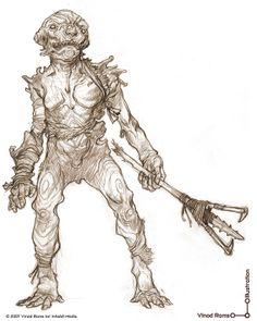 Creature Designs, Vinod Ram