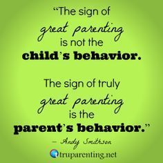 The Sign Of Great Parenting #GoodParenting