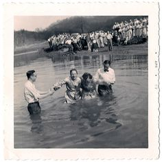 Baptism, Middle Fork, West Virginia, 1957Photo by Pawpaw Bill