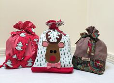 Santa Sack Sewing Tutorial and Free Applique – Felicity Sewing Patterns Blog