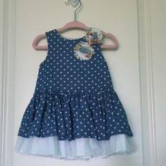Pippa & Julie dress - 12M  Excellent condition. Used once for photos. Washed with Dreft detergent.   Pick-up in Dublin. Price is negotiable if buyi... image 1