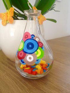 Bottle design/summer colors/nice idea