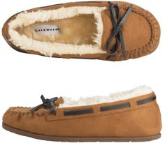 Moccasins. I love wearing these around the house.