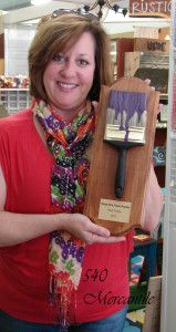 540 Mercantile wins the Most Purple Award for Paint the Town Purple Campaign!