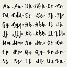 Full Alphabet Cutfile - SVG Studio3 DXF EPS font - for Cricut and Silhouette…