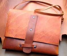 Leather bag For woman, custom made and By order @ http://www.handmadebyortlep.com