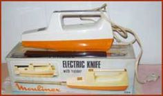 Dad was chief Knife cutter of any Roast. This came along & became a novelty but eventually Dad went back to the old way of cutting.