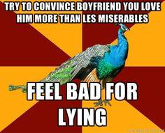 Not that I have a boyfriend because my heart already belongs to someone... EDDIE REDMAYNE!!