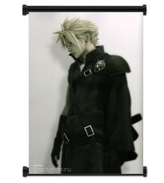 Final Fantasy VII Advent Children Cloud Fabric Wall Scroll Poster Inches ** Discover this special product, click the image : DIY : Do It Yourself Today Final Fantasy Xv, Cloud Fabric, Cloud Gaming, Monochromatic Color Scheme, Tokyo Otaku Mode, Mode Shop, Childhood Friends, Cloud Strife, Beautiful Wall