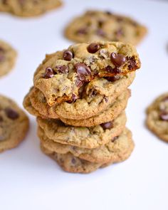 Yammie's Glutenfreedom: Simple, Chewy, Gluten Free Chocolate Chip Cookies