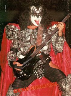the kiss tours magazine 1974 1988 Nyc March, Vinnie Vincent, Kiss Images, Eric Carr, Kiss Photo, Gene Simmons, Pin Up, Tours, Scrapbook