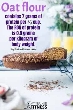 Oat flour, is made of ground oats. Oats are a great gluten free food with many uses and benefits. Gluten Free Recipes, Vegetarian Recipes, Healthy Recipes, Oat Flour Pancakes, At Home Workouts For Women, Trainer Fitness, Frozen Blueberries, Bread Baking, Body Weight