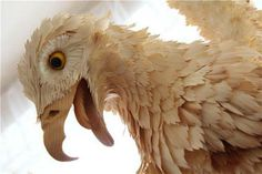 Increíbles animales tallados en madera (7 fotos)